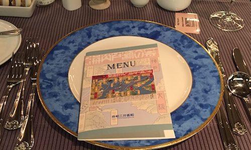 日本丸クリスマスディナー。