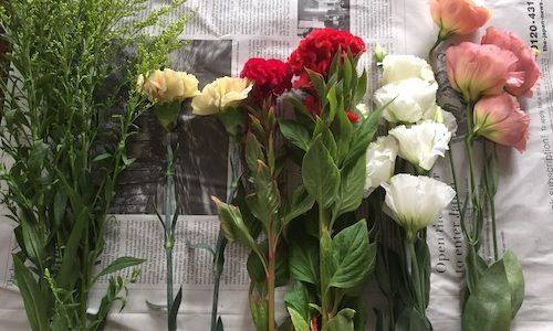お花の宅配便 7月1便が来た。